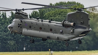 Photo ID 197499 by Martin Thoeni - Powerplanes. UK Air Force Boeing Vertol Chinook HC2 CH 47D, ZA675