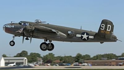 Photo ID 197571 by David F. Brown. Private Mid Atlantic Air Museum Inc North American B 25J Mitchell, N9456Z