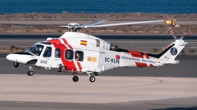 Photo ID 197872 by Varani Ennio. Spain Maritime Safety and Rescue Agency Agusta Westland AW139, EC KLN