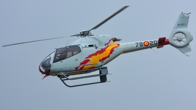 Photo ID 197900 by Rainer Mueller. Spain Air Force Eurocopter EC 120B Colibri, HE 25 1