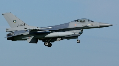 Photo ID 197953 by Klemens Hoevel. Netherlands Air Force General Dynamics F 16AM Fighting Falcon, J 008