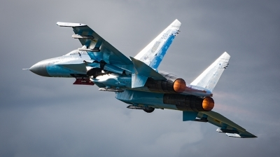 Photo ID 197978 by James Walters. Ukraine Air Force Sukhoi Su 27P,