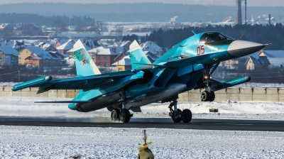 Photo ID 198238 by Kirill Mushak. Russia Air Force Sukhoi Su 34 Fullback,