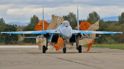 Photo ID 198486 by Jan Suchanek. Ukraine Air Force Sukhoi Su 27P,
