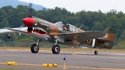 Photo ID 198530 by Radim Koblizka. Private American Airpower Heritage Flying Museum Curtiss P 40M Warhawk, N1232N