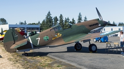 Photo ID 198679 by Aaron C. Rhodes. Private Flying Heritage Collection Curtiss P 40C Warhawk, NX2689