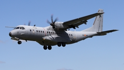 Photo ID 23579 by James Shelbourn. Spain Air Force CASA C 295M, T 21 07