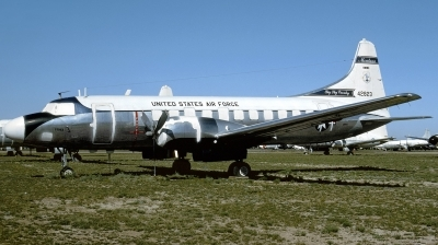 Photo ID 198983 by Hans-Werner Klein. USA Air Force Convair VC 131D 340 79, 54 2823