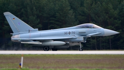 Photo ID 199113 by Stephan Franke - Fighter-Wings. Germany Air Force Eurofighter EF 2000 Typhoon S, 30 70