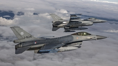 Photo ID 199227 by Hans Antonissen. Netherlands Air Force General Dynamics F 16AM Fighting Falcon, J 624