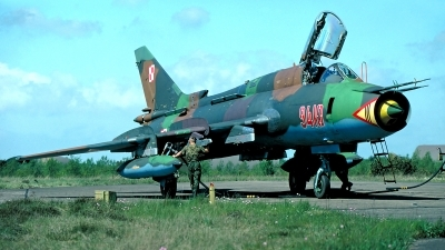 Photo ID 199267 by Carl Brent. Poland Air Force Sukhoi Su 22M4 Fitter K, 9410