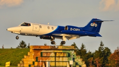 Photo ID 199353 by Radim Spalek. Company Owned GFD Learjet 35A, D CGFD