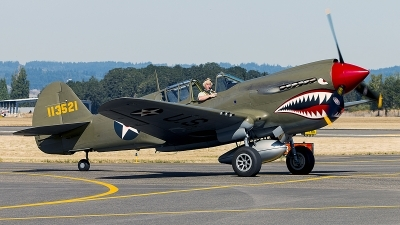 Photo ID 199485 by Aaron C. Rhodes. Private Erickson Aircraft Collection Curtiss P 40E Warhawk, NX940AK