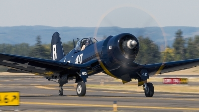 Photo ID 199813 by Aaron C. Rhodes. Private Erickson Aircraft Collection Vought F4U 7 Corsair, NX1337A