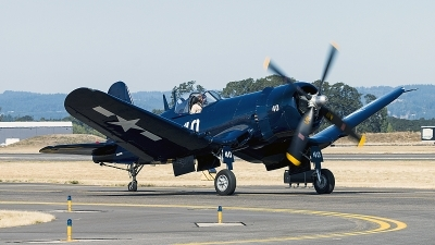 Photo ID 199520 by Aaron C. Rhodes. Private Erickson Aircraft Collection Vought F4U 7 Corsair, NX1337A