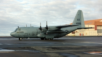 Photo ID 199784 by Michael Baldock. USA Navy Lockheed C 130T Hercules L 382, 164995