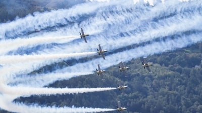 Photo ID 205333 by Agata Maria Weksej. Private Breitling Jet Team Aero L 39C Albatros, ES YLN