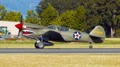 Photo ID 200060 by Aaron C. Rhodes. Private Erickson Aircraft Collection Curtiss P 40E Warhawk, NX940AK