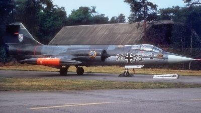 Photo ID 200003 by Rainer Mueller. Germany Air Force Lockheed F 104G Starfighter, 20 75