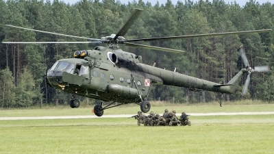 Photo ID 200040 by W.A.Kazior. Poland Army Mil Mi 8MTV 1, 6106
