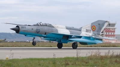 Photo ID 200098 by Alexandru Chirila. Romania Air Force Mikoyan Gurevich MiG 21MF 75 Lancer C, 5917