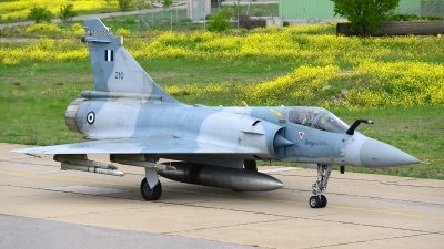 Photo ID 200152 by Stephan Franke - Fighter-Wings. Greece Air Force Dassault Mirage 2000EG, 210