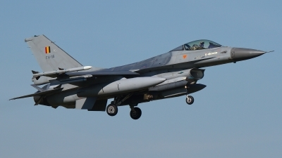 Photo ID 200301 by Rainer Mueller. Belgium Air Force General Dynamics F 16AM Fighting Falcon, FA 116