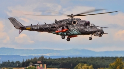 Photo ID 200400 by Radim Spalek. Czech Republic Air Force Mil Mi 24V, 3366