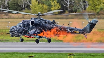 Photo ID 200399 by Radim Spalek. Czech Republic Air Force Mil Mi 24V, 3366
