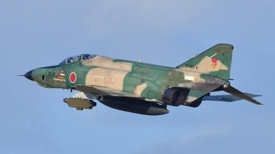 Photo ID 200477 by Peter Terlouw. Japan Air Force McDonnell Douglas RF 4EJ Phantom II, 57 6914