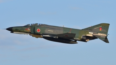 Photo ID 200476 by Peter Terlouw. Japan Air Force McDonnell Douglas RF 4EJ Phantom II, 77 6397