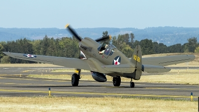 Photo ID 200527 by Aaron C. Rhodes. Private Erickson Aircraft Collection Curtiss P 40E Warhawk, NX940AK