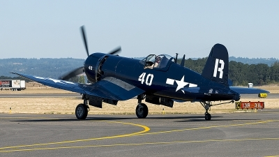 Photo ID 200528 by Aaron C. Rhodes. Private Erickson Aircraft Collection Vought F4U 7 Corsair, NX1337A