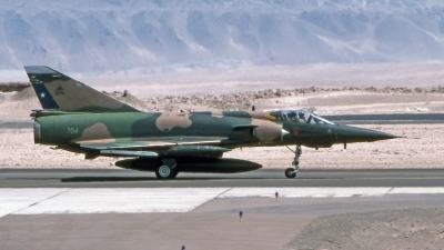 Photo ID 200549 by Marc van Zon. Chile Air Force Dassault Mirage 5BA Mirsip, 704
