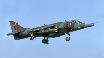 Photo ID 200502 by Marc van Zon. UK Air Force Hawker Siddeley Harrier GR 3, XV790