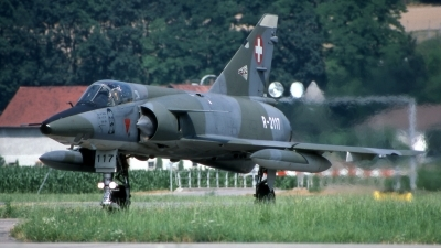 Photo ID 200504 by Marc van Zon. Switzerland Air Force Dassault Mirage IIIRS, R 2117