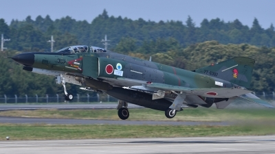Photo ID 200536 by Peter Terlouw. Japan Air Force McDonnell Douglas RF 4EJ Phantom II, 77 6397