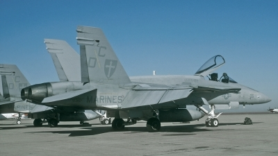 Photo ID 200590 by David F. Brown. USA Marines McDonnell Douglas F A 18A Hornet, 163157
