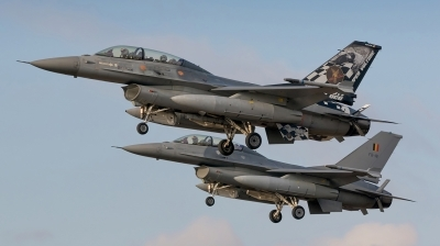 Photo ID 200644 by MANUEL ACOSTA. Belgium Air Force General Dynamics F 16BM Fighting Falcon, FB 24