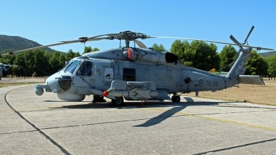 Photo ID 202019 by Kampitoglou Dimitrios. Greece Navy Sikorsky S 70B 6 Aegean Hawk, PN59