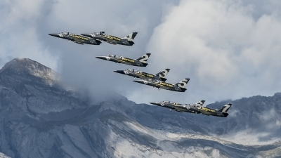 Photo ID 200705 by Martin Thoeni - Powerplanes. Private Breitling Jet Team Aero L 39C Albatros, ES YLN