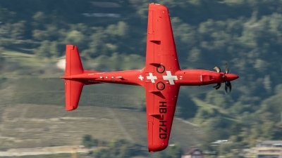 Photo ID 200703 by Martin Thoeni - Powerplanes. Company Owned Pilatus Pilatus PC 21, HB HZD