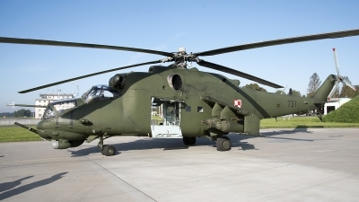 Photo ID 200663 by W.A.Kazior. Poland Army Mil Mi 24V, 731