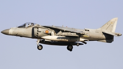 Photo ID 200686 by Ruben Galindo. Spain Navy McDonnell Douglas EAV 8B Harrier II, VA 1B 38