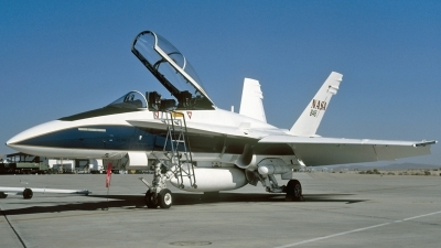 Photo ID 200717 by David F. Brown. USA NASA McDonnell Douglas TF 18A Hornet, 161355