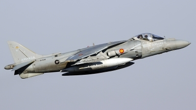 Photo ID 200732 by Ruben Galindo. Spain Navy McDonnell Douglas EAV 8B Harrier II, VA 1B 26