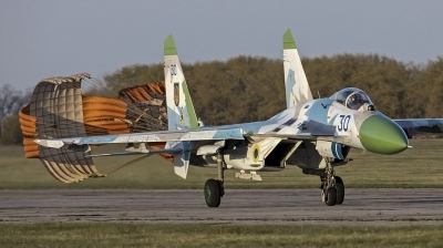Photo ID 200786 by Hans Antonissen. Ukraine Air Force Sukhoi Su 27P,