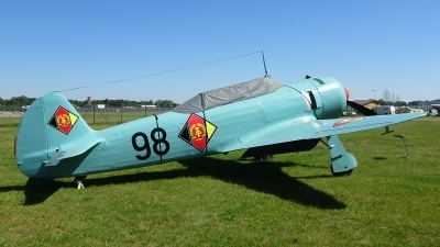 Photo ID 200791 by Lukas Kinneswenger. East Germany Air Force Yakovlev Yak 11, 98