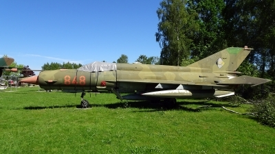 Photo ID 200793 by Lukas Kinneswenger. East Germany Air Force Mikoyan Gurevich MiG 21bis, 848