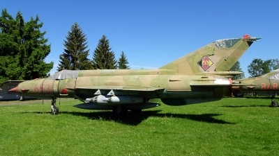 Photo ID 200794 by Lukas Kinneswenger. East Germany Air Force Mikoyan Gurevich MiG 21MF,